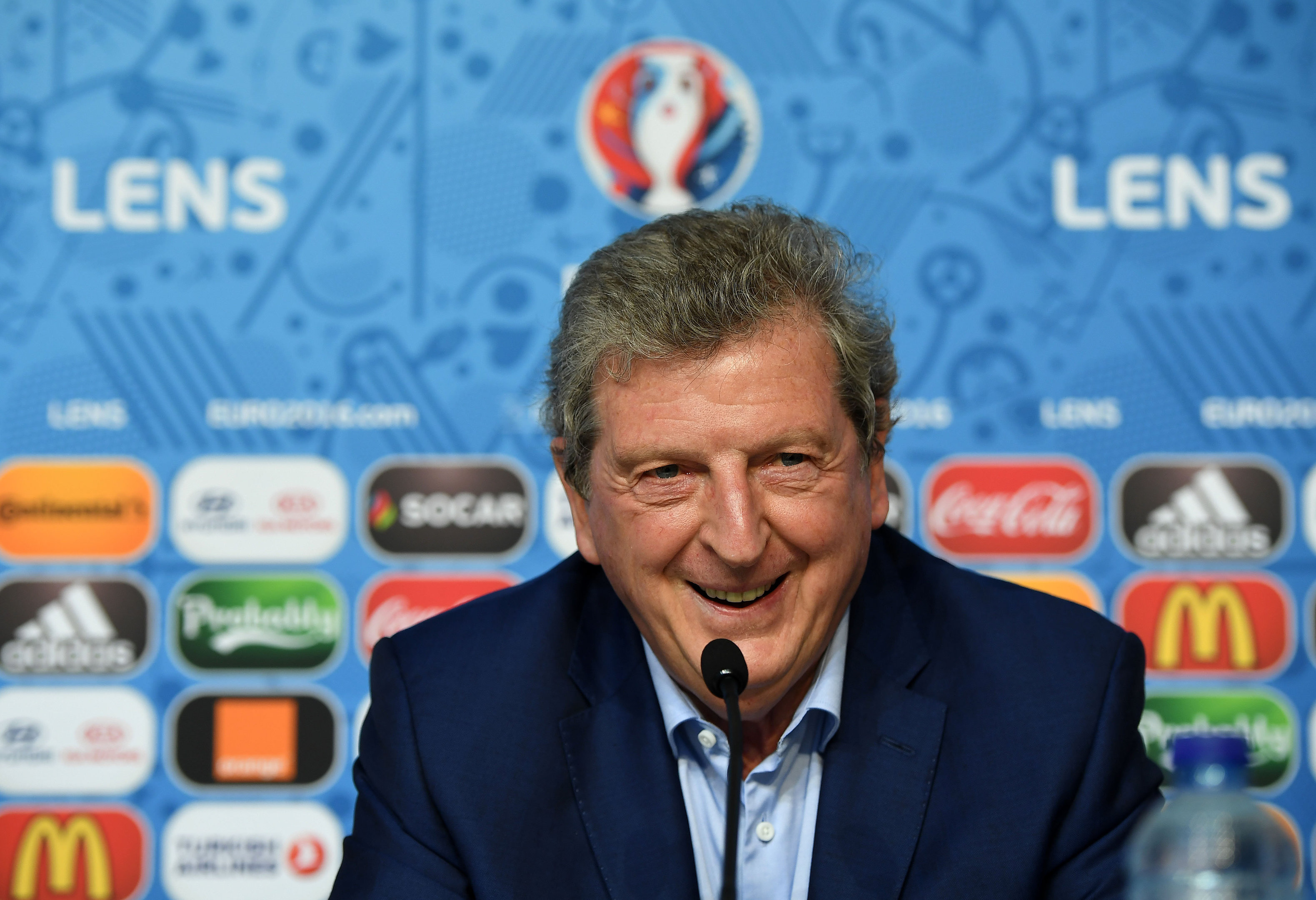 England manager Roy Hodgson (UEFA via Getty Images)