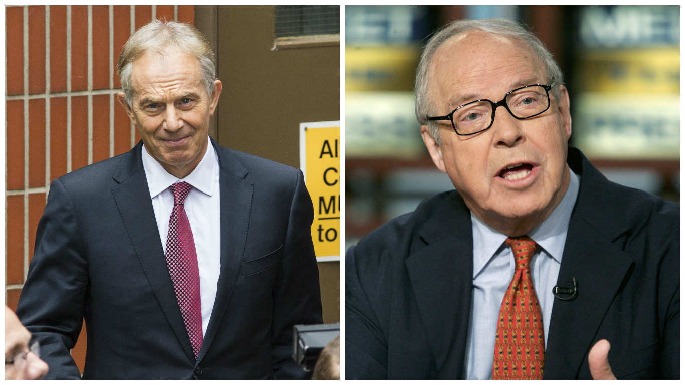 Tony Blair (left) and Hans Blix (Jack Taylor & Alex Wong / Getty Images)