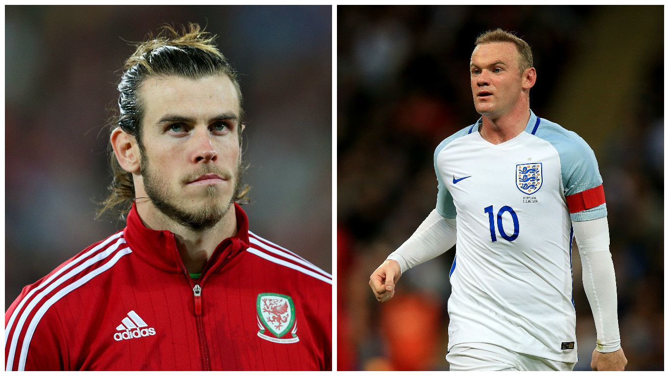 Gareth Bale (left) and Wayne Rooney will be hoping to progress (PA)