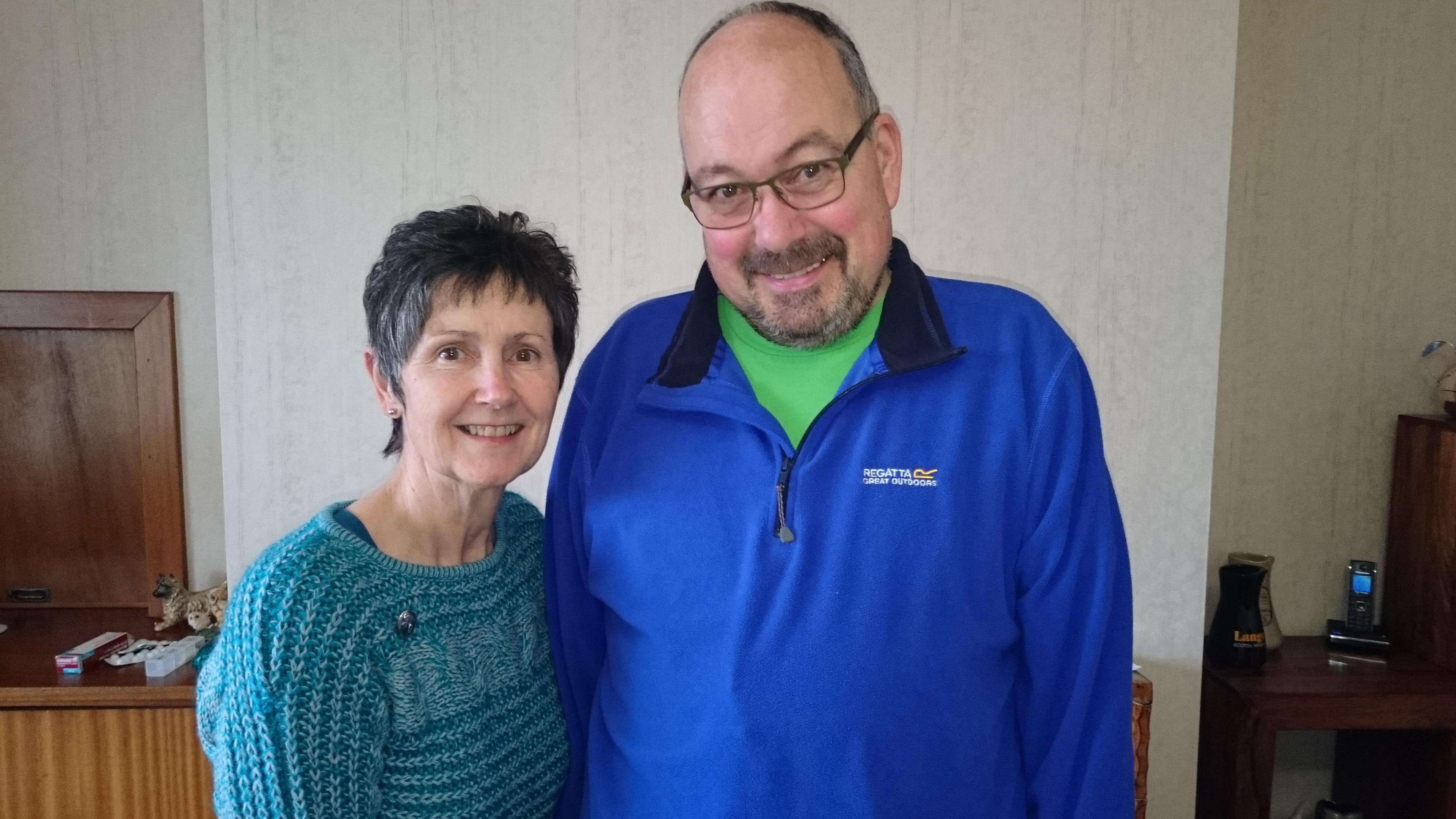 Iain and Joyce Donachie