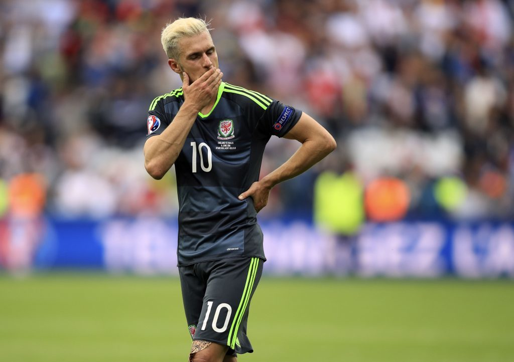 Aaron Ramsey after defeat to England (Mike Egerton/PA Wire)