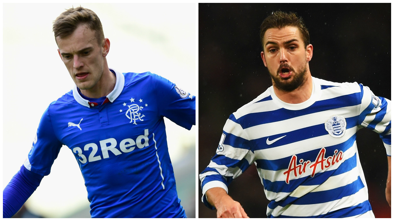Dean Shiels (left) and Niko Kranjcar (Getty Images)