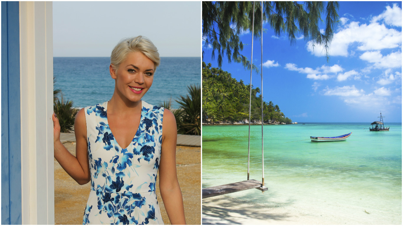 Danni Menzies travelled Thailand as a teen (Getty Images)