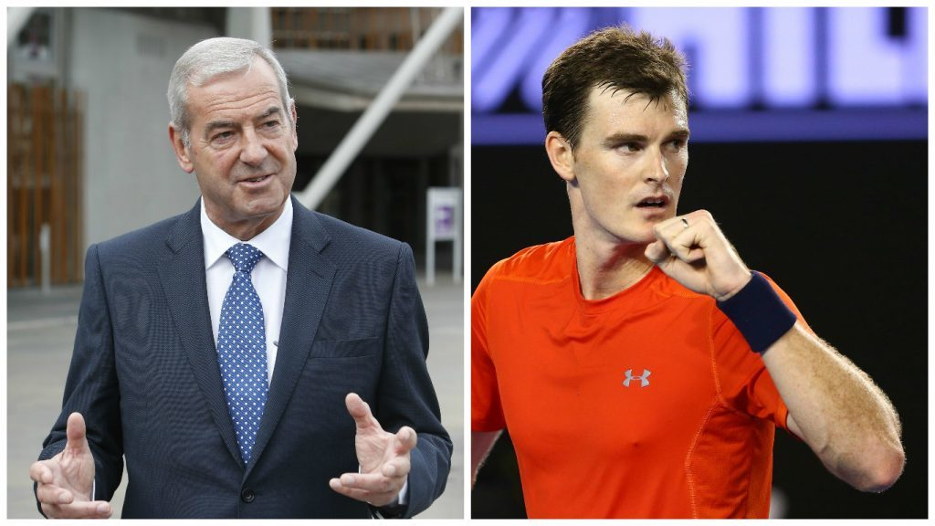 Lord Smith and Jamie Murray receive honours (PA Wire & Getty Images)