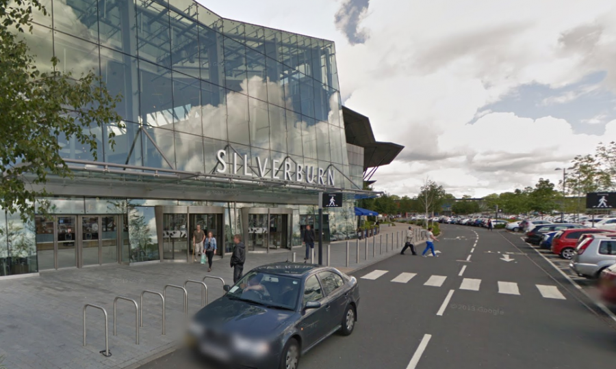 Silverburn Shopping Centre evacuates 'coughing' shoppers after 'chemical fumes from paint circulate through air vent' Emergency services were called to the shopping centre in Pollock, Glasgow.