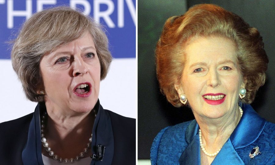 Theresa May and Margaret Thatcher compared (Chris Radburn/PA Wire)