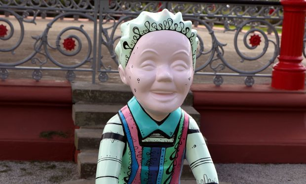 One of Dundee's Oor Wullie statues (Gordon Robbie / DC Thomson)