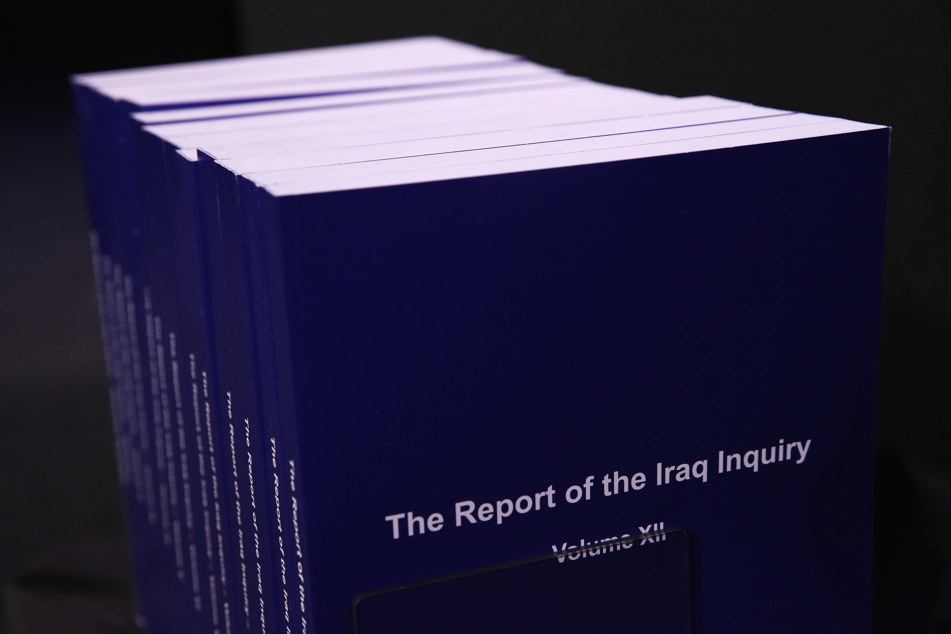 The Iraq Inquiry Report (Dan Kitwood/Getty Images)