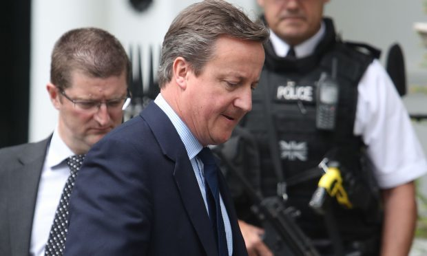 Former prime minister David Cameron (Steve Parsons/PA Wire)