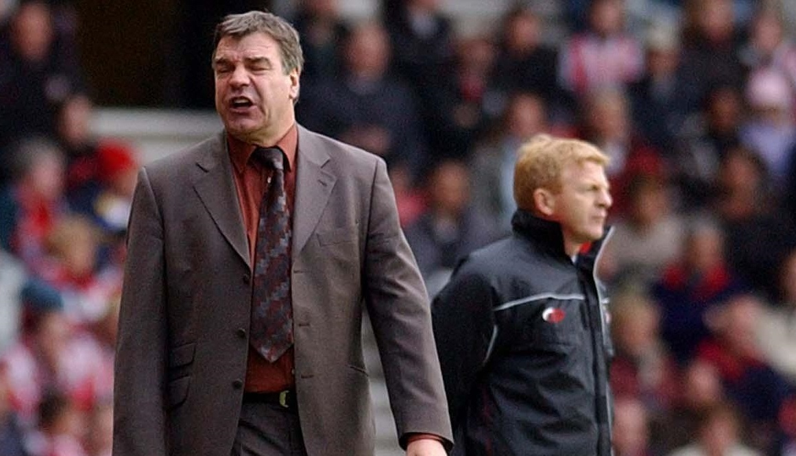 Then Bolton Wanderers manager Sam Allardyce with Southampton manager Gordon Strachan (right) (PA Archive)