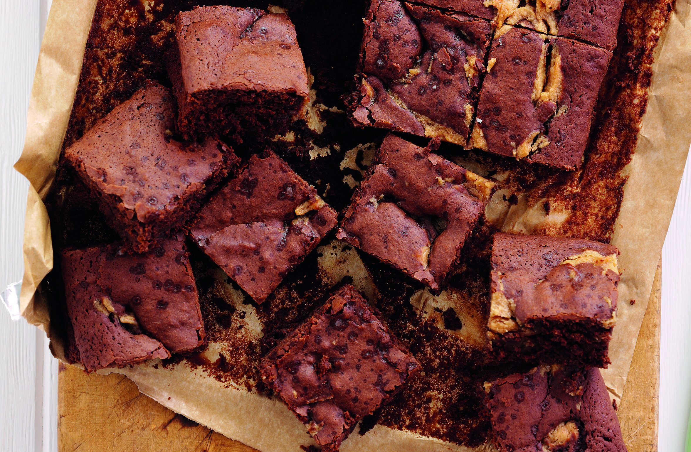 The delicious brownies