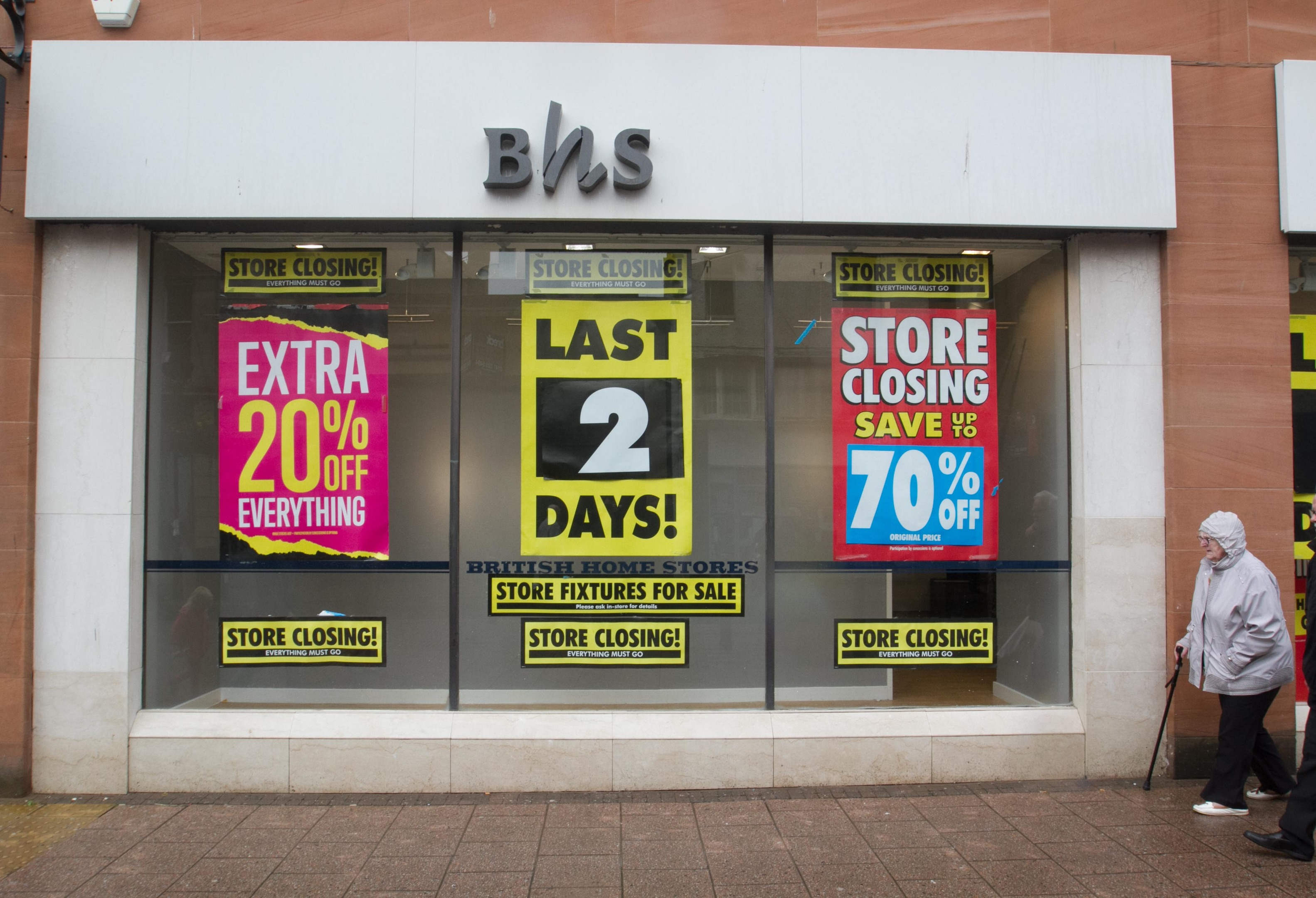 BHS, Ayr (Chris Austin / DC Thomson)
