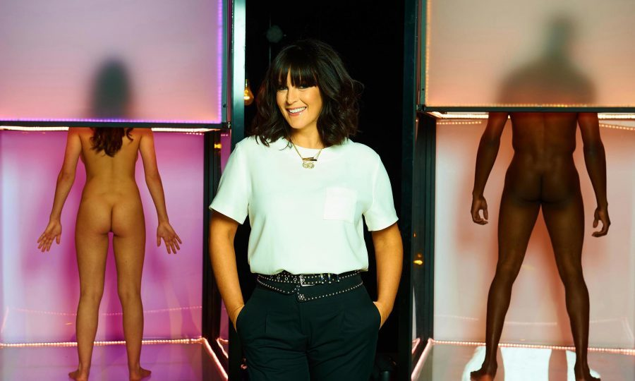 Naked Attraction, presented by Anna Richardson (Channel4)
