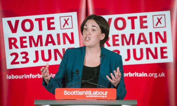 Scottish Labour leader Kezia Dugdale (Danny Lawson/PA)