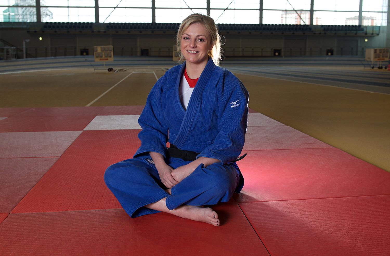 Judo star Stephanie Inglis