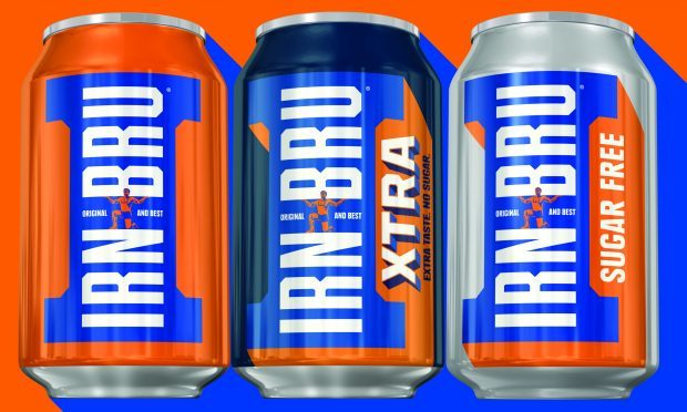 Irn-Bru recently released Irn Bru Xtra (AG Barr)