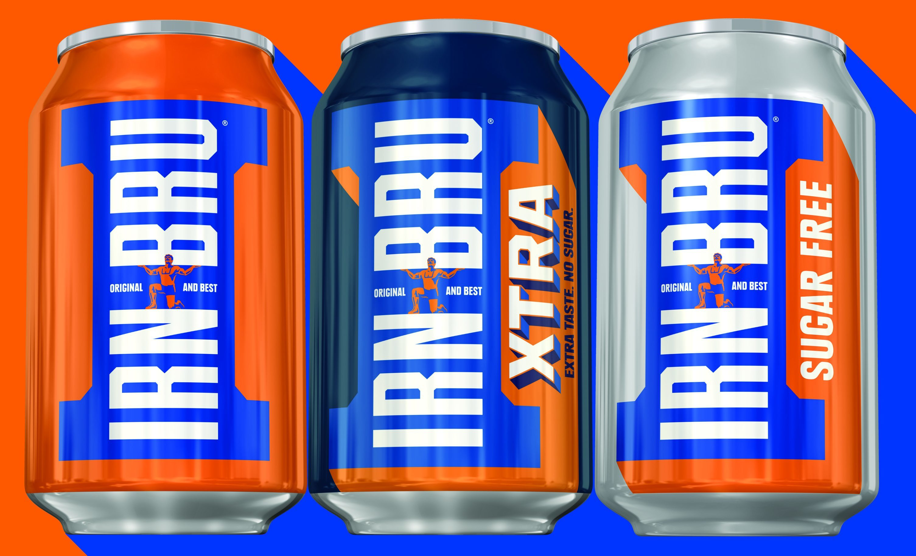Irn-Bru recently released Irn Bru Xtra (AG Barr)