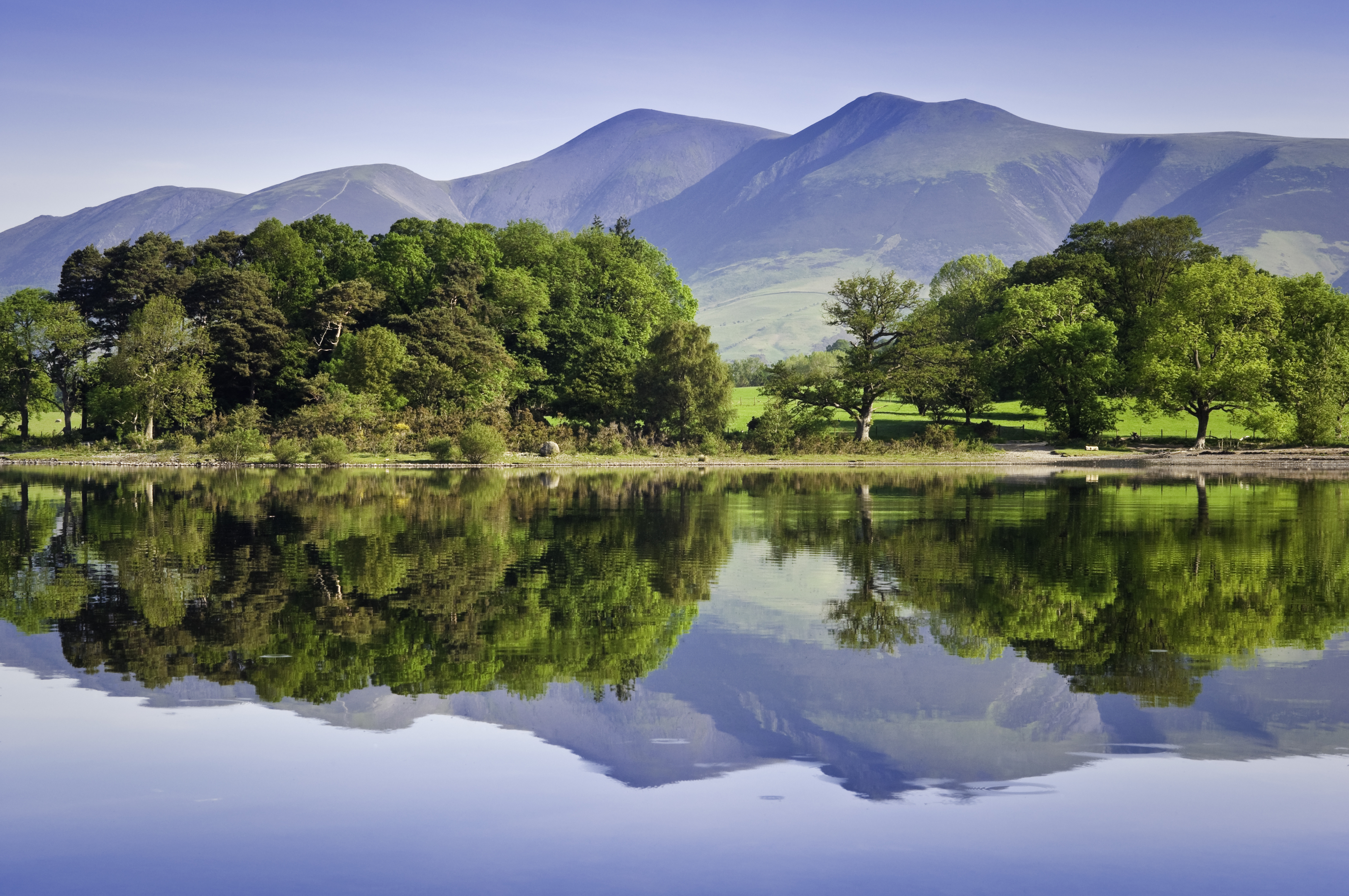 Derwent Water in the Lake District (Getty)