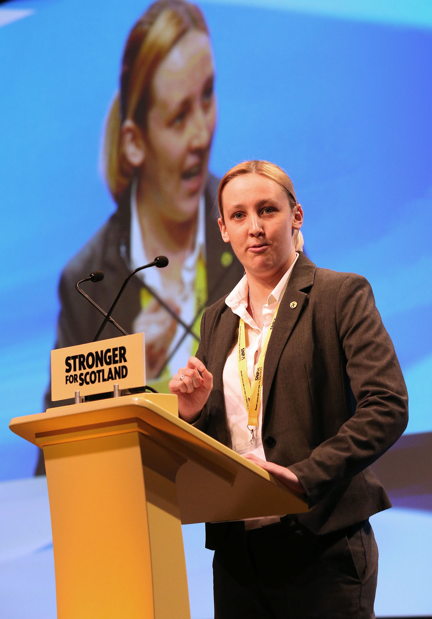 SNP MP Mhairi Black (PA)