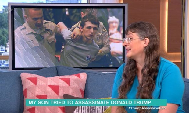 Lynne Sandford wants the US to send her son home (ITV/Universal News And Sport)