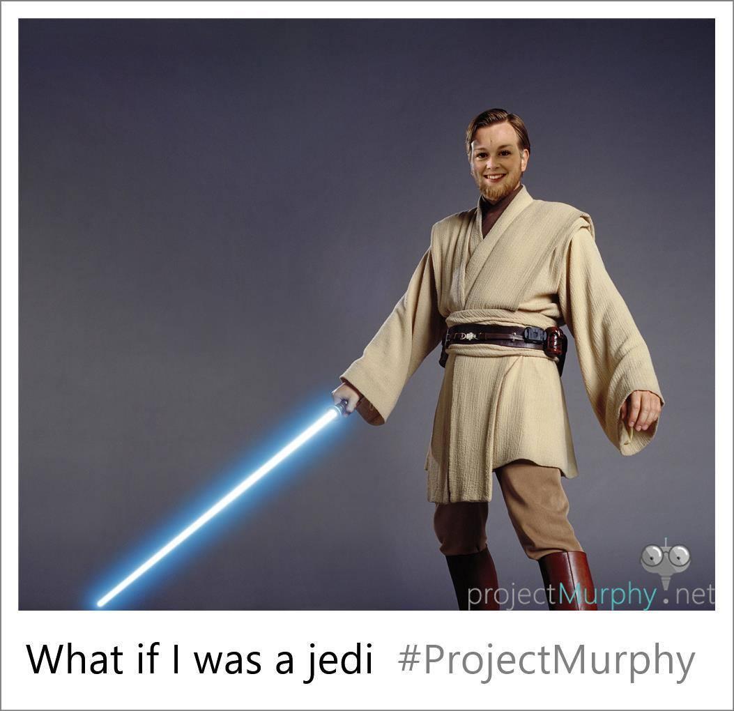 Me as a Jedi