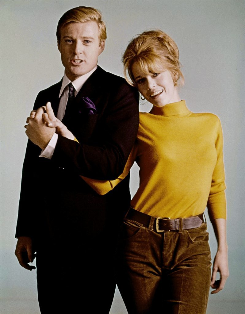 Robert Redford and Jane Fonda in 1967 film Barefoot in the Park (Allstar/PARAMOUNT)