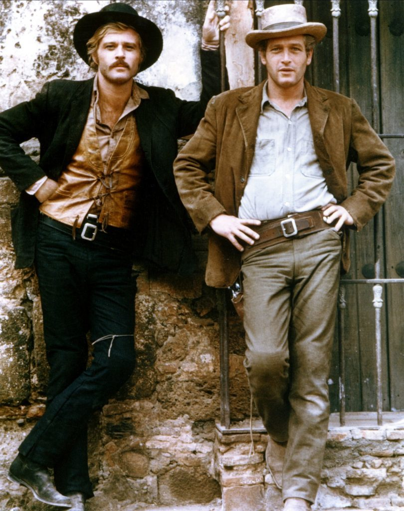 Robert Redford and Paul Newman in Butch Cassidy and the Sundance Kid, 1969 (Allstar/20TH CENTURY FOX)