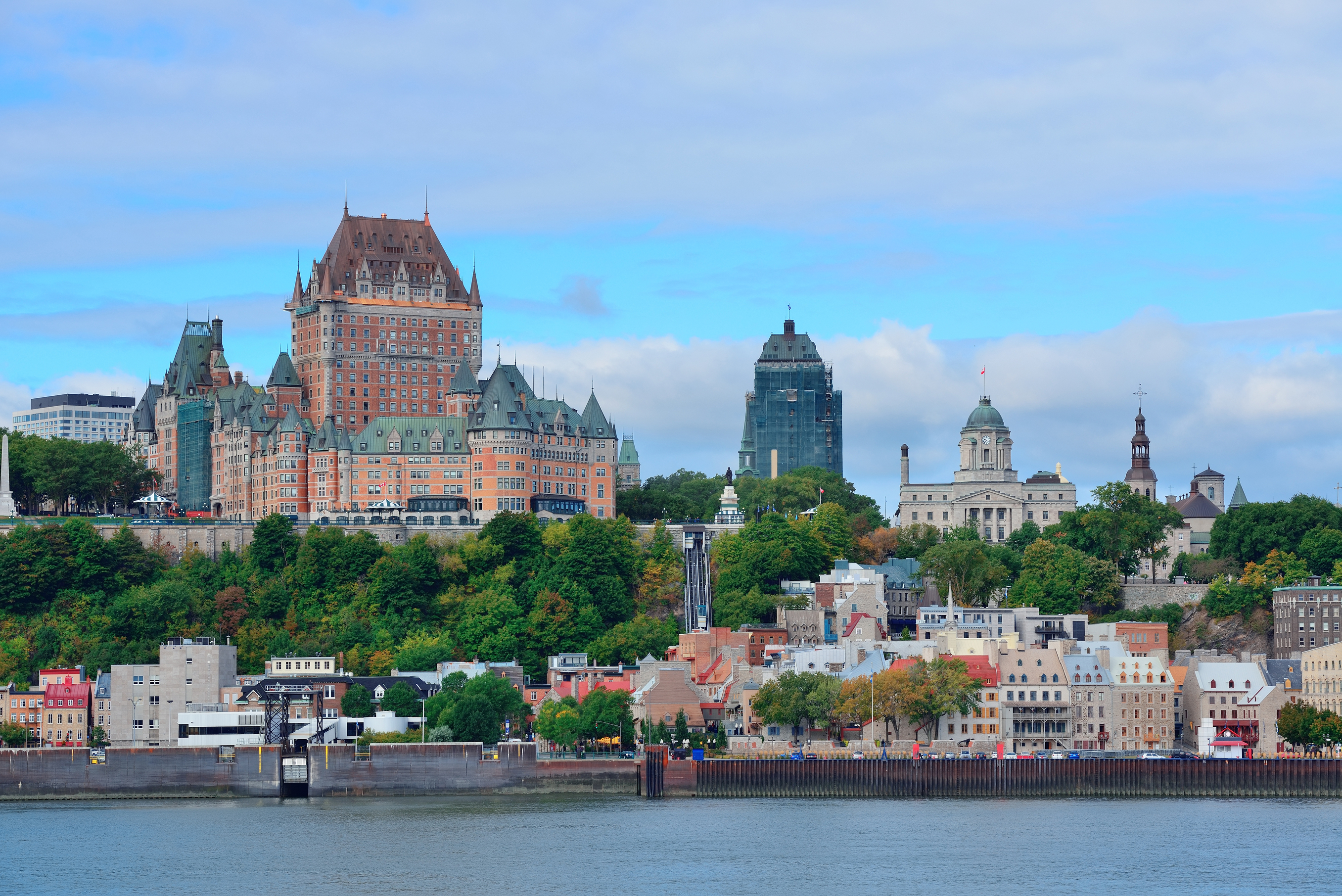 Quebec City skyline (Getty Images)