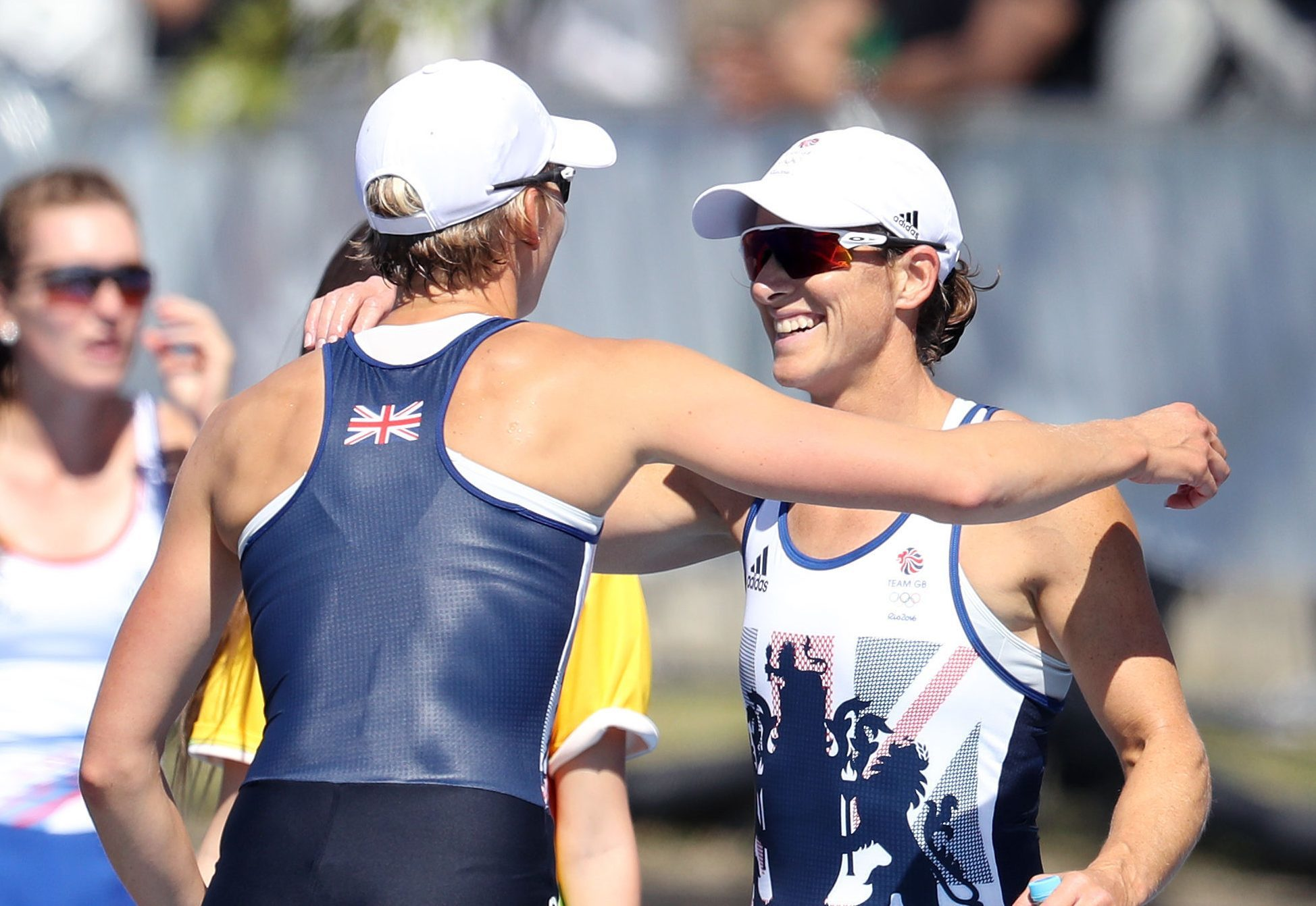 Great Britain's Katherine Grainger (right) and Victoria Thornley (Martin Rickett/PA Wire)