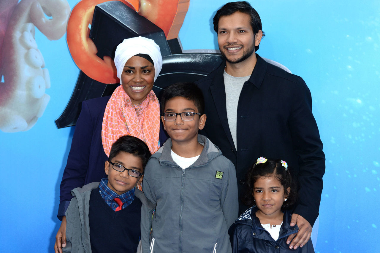 Nadiya and her family