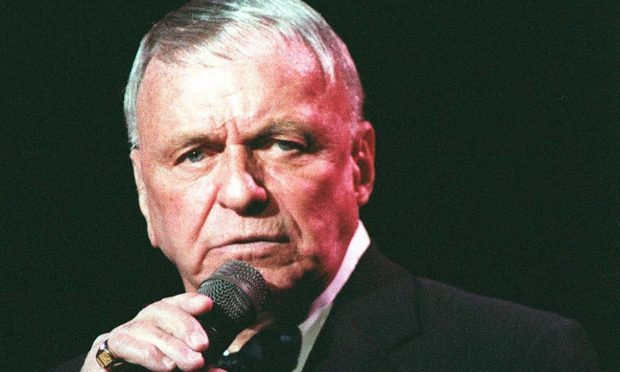 Frank Sinatra's My Way topped a funeral song chart compiled by Co-op Funeralcare (Adam Butler/PA Wire)