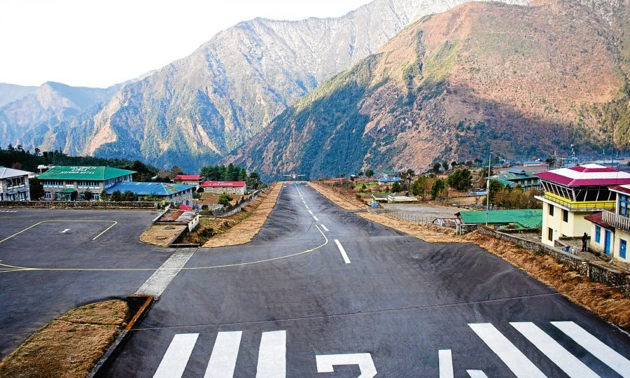 Image result for lukla airport nepal