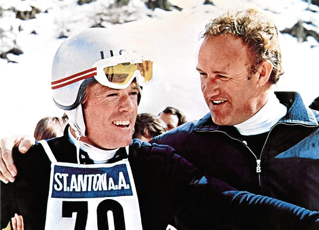 Redford with Gene Hackman (Allstar/PARAMOUNT)