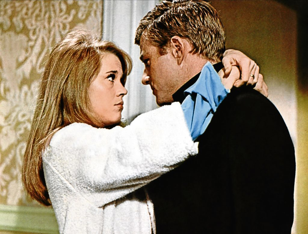 With Jane Fonda (Allstar/PARAMOUNT)