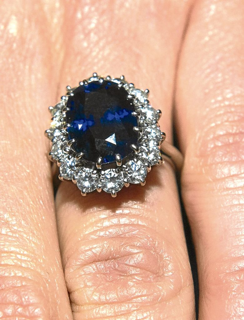 The ring given to Diana (PA)