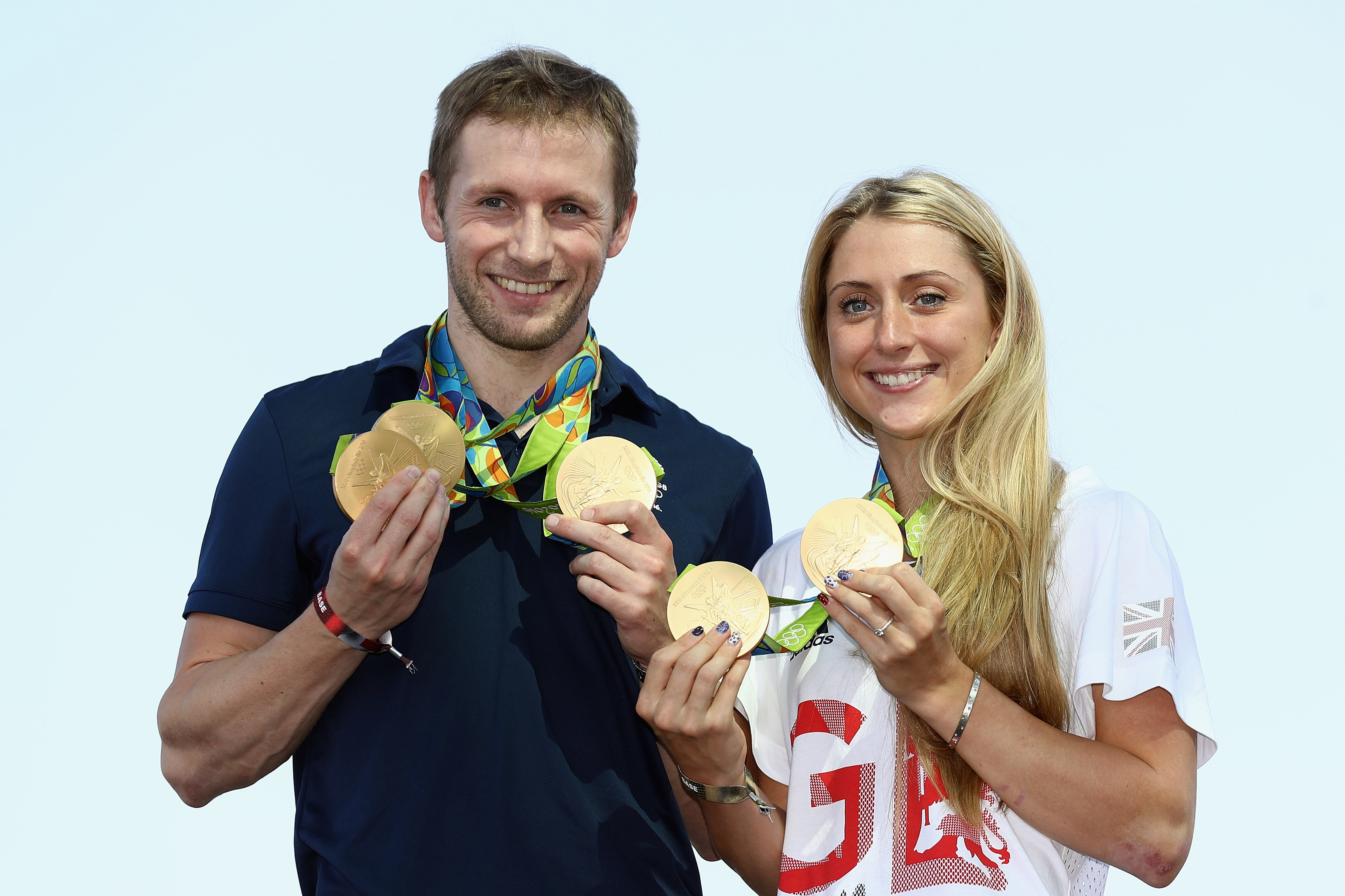 Team GB cyclists Laura Trott and Jason Kenny (Bryn Lennon/Getty Images)