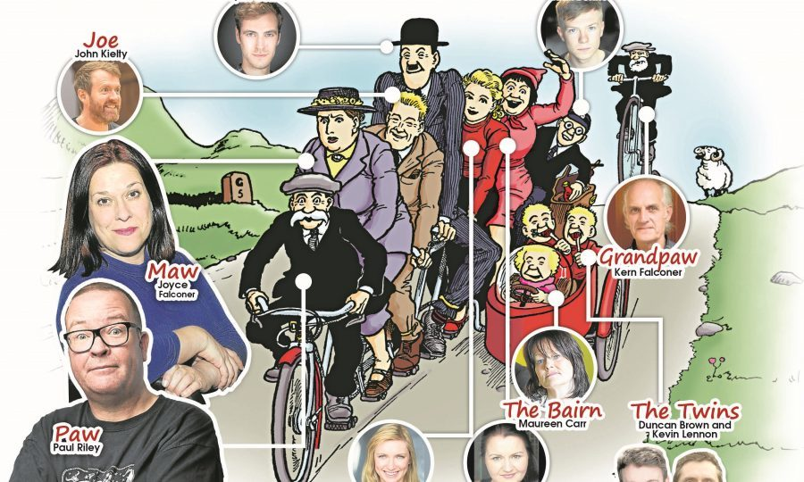 The Broons cast