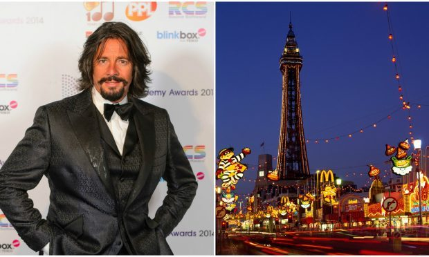 Laurence Llewelyn Bowen is working on the Blackpool display for the tenth year (Dominic Lipinski / PA Wire & Alamy)