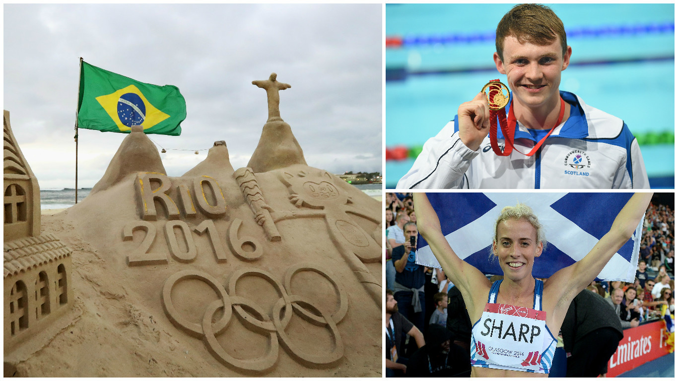 Scots Ross Murdoch and Lynsey Sharp will be competing in Rio (Getty Images)