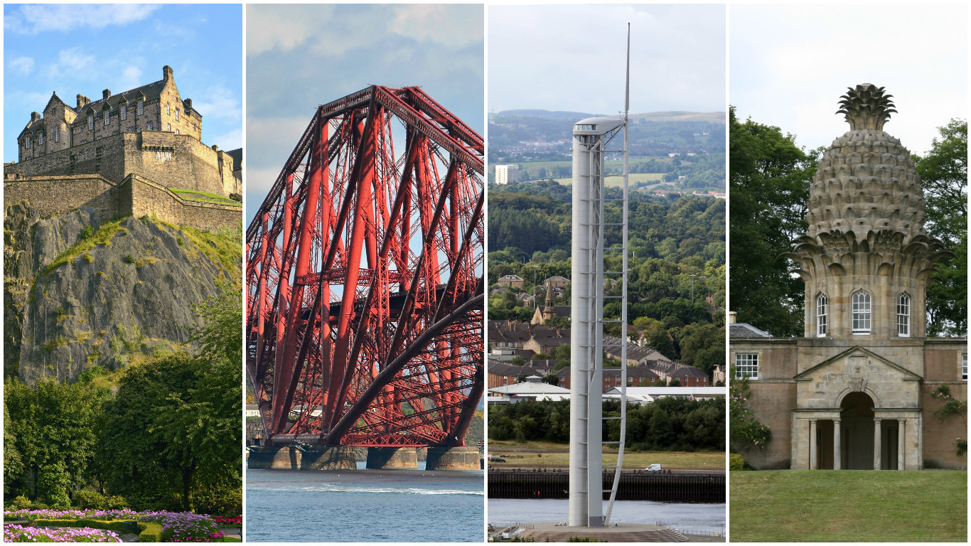 Scotland has a vast array of interesting architecture