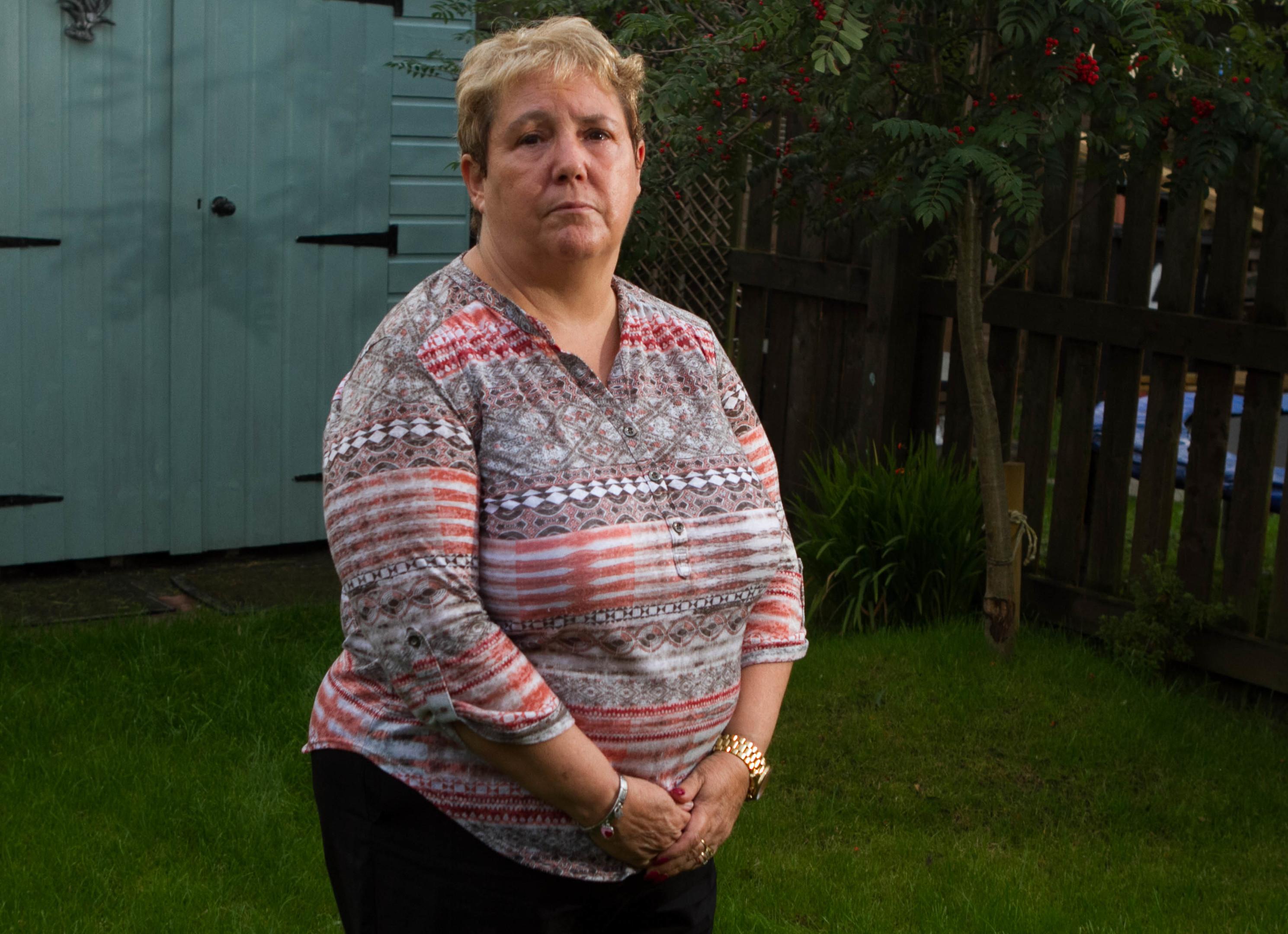 Margaret McKeitch mother of murdered school girl Caroline Glachan (Chris Austin)