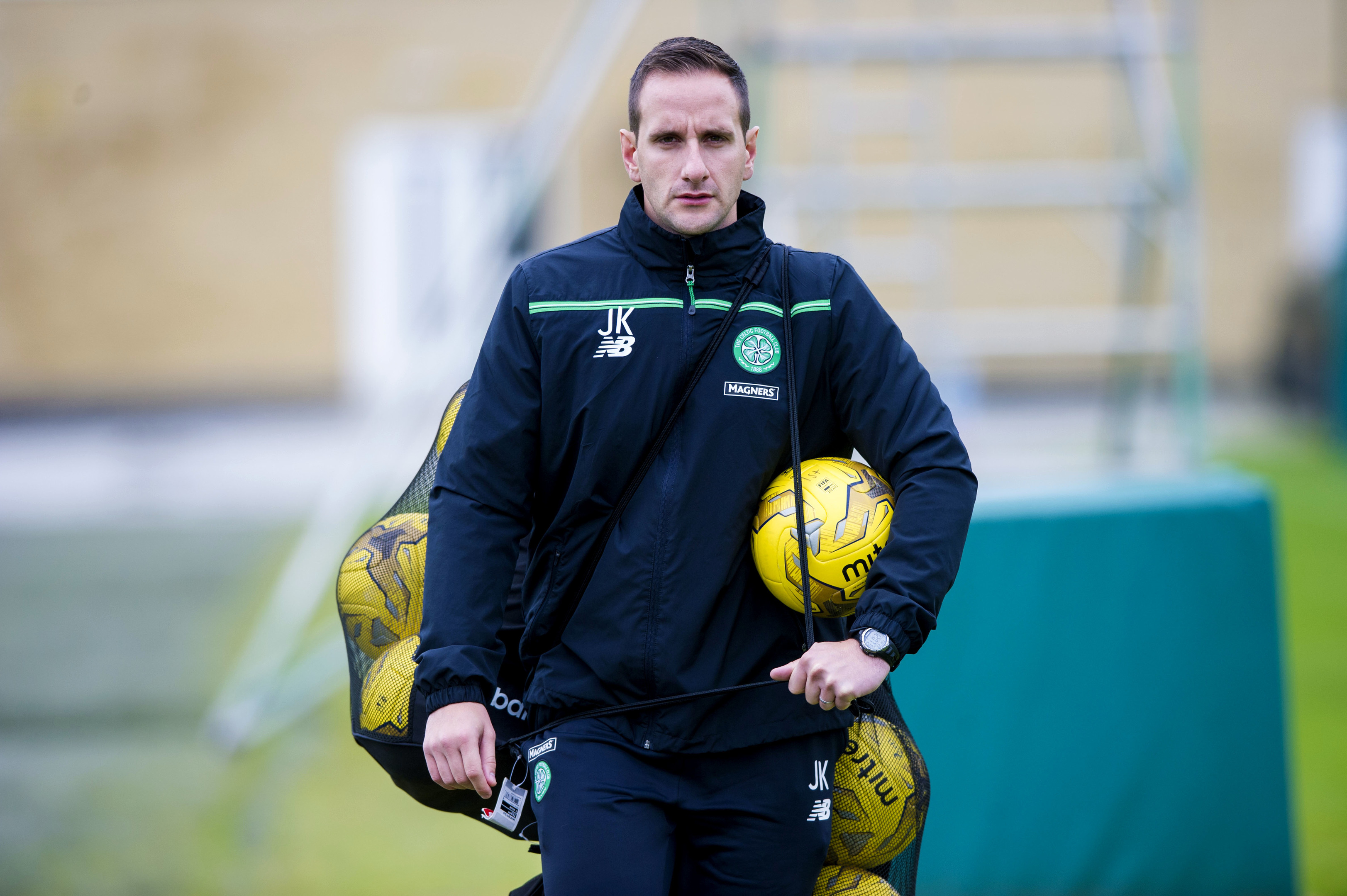 Celtic coach John Kennedy (SNS Group / Paul Devlin)