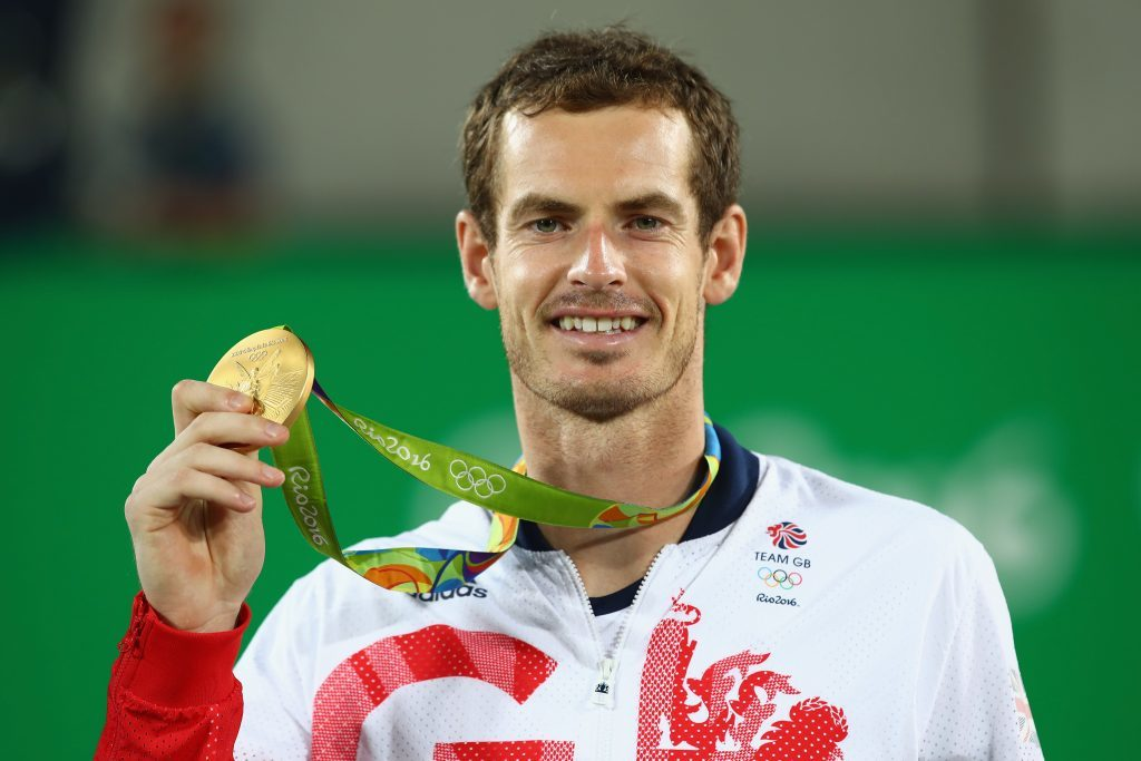 Gold medallist Andy Murray (Clive Brunskill/Getty Images)