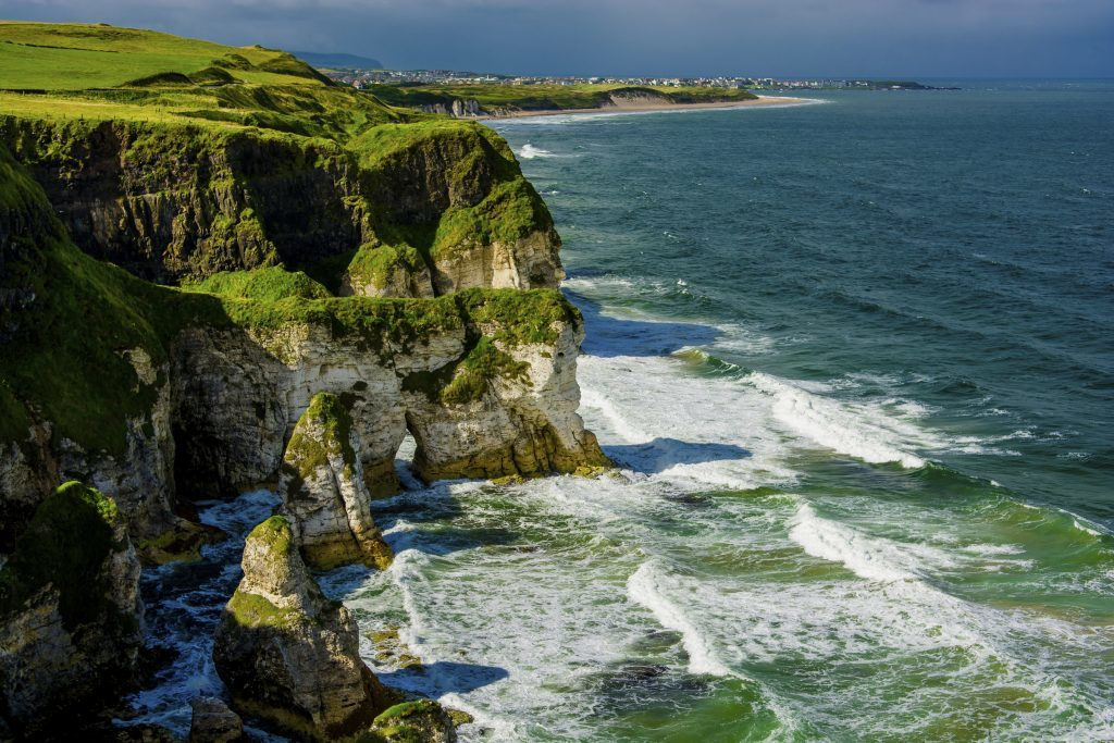 Cliffs near Portrush (Getty Images)