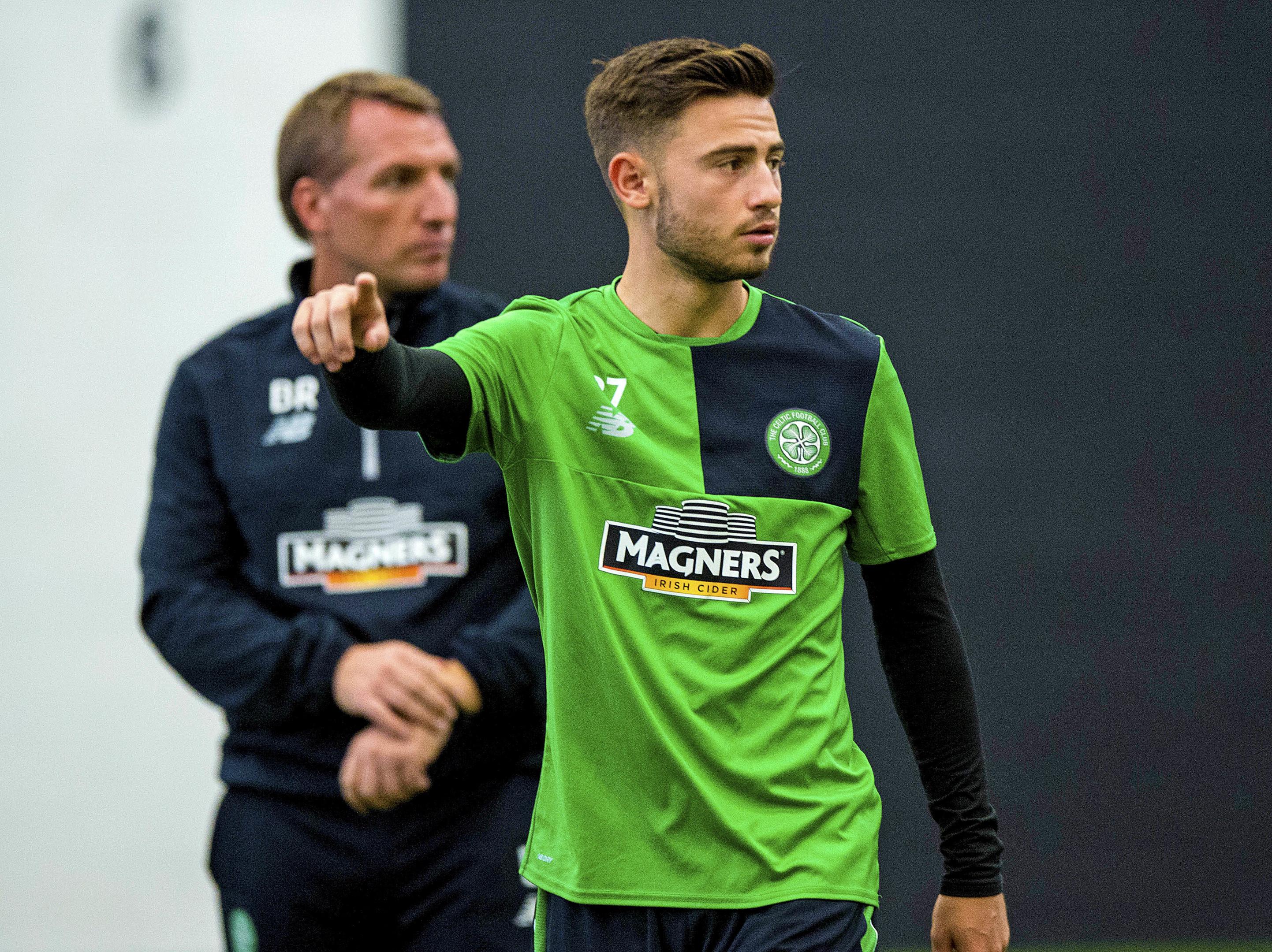 Celtic's Patrick Roberts (SNS Group / Alan Harvey)