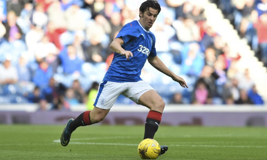 Joey Barton in action for Rangers (SNS Group / Rob Casey)