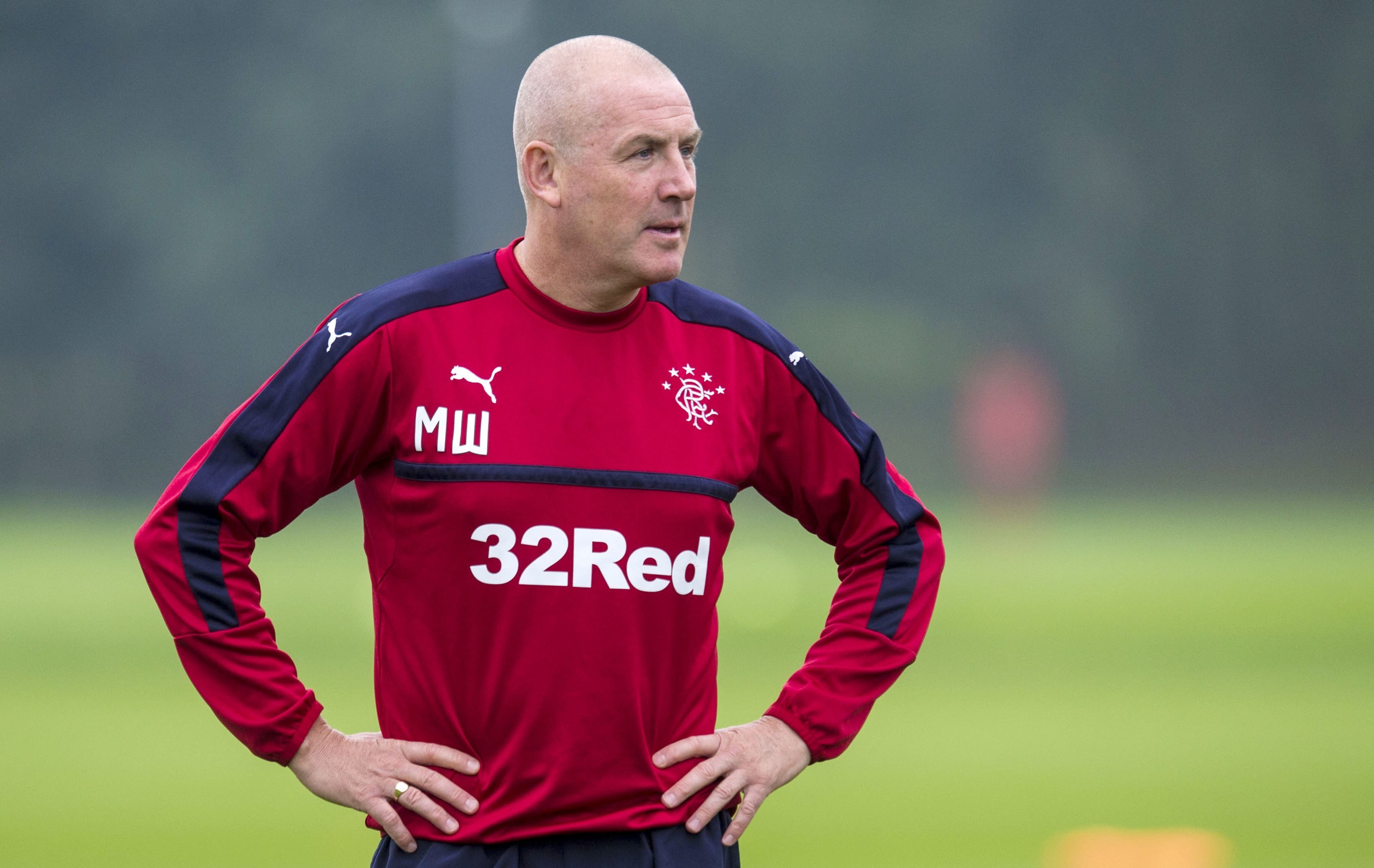 Rangers manager Mark Warburton (SNS Group / Craig Williamson)