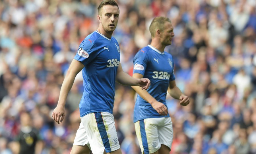 Danny Wilson in action for Rangers (SNS Group)
