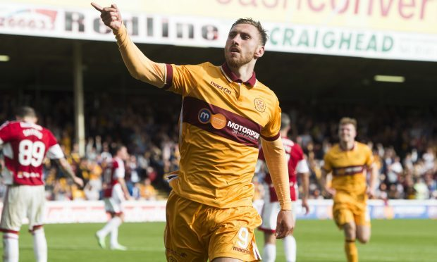 Motherwell's Louis Moult (SNS Group)
