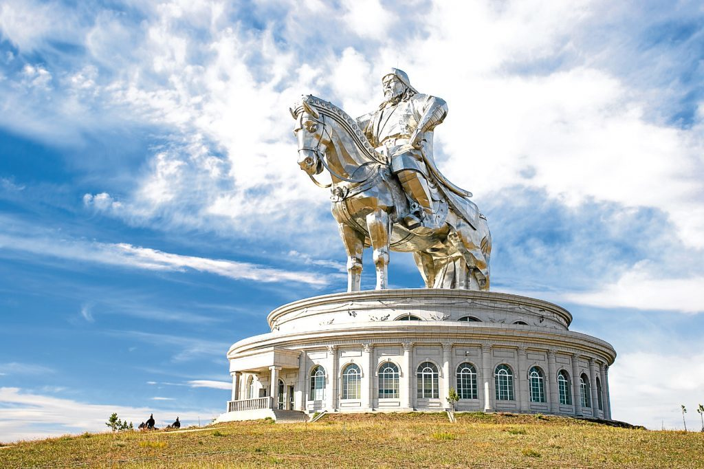 The world's largest equestrian statue (Getty Images)The world's largest equestrian statue (Getty Images)